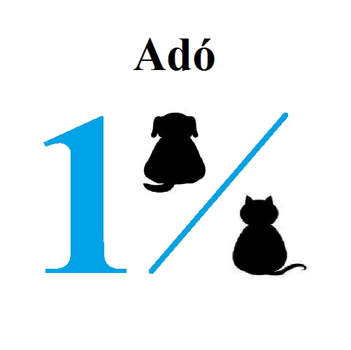 Adó 1 % állatmenhely